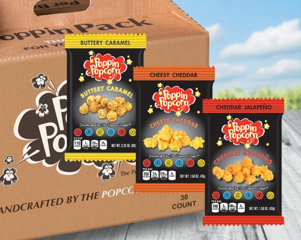 Farm - Poppin Pack - America's Favorite Variety Pack - Buttery-Cheesy-Jalapeno